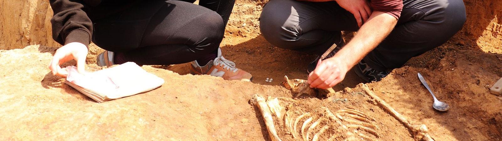Laténský hrob ženy ze Sběře na Jičínsku